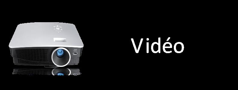 Vidéoprojecteur écran sono conférence et karaoké soirée dansante Niort Location